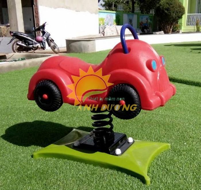 Chuyên cung cấp thú nhún lò xo cho trường mầm non, sân chơi trẻ em, công viên4