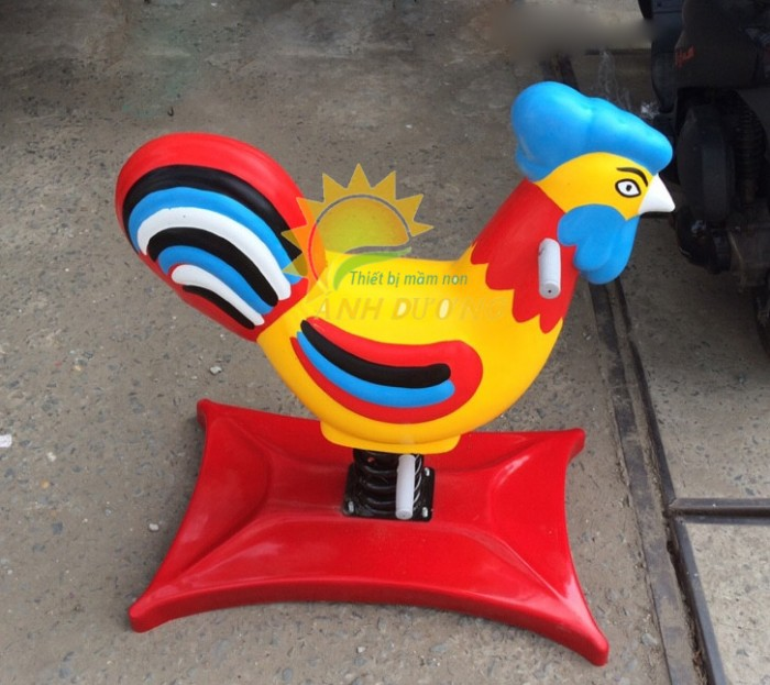 Chuyên cung cấp thú nhún lò xo cho trường mầm non, sân chơi trẻ em, công viên7