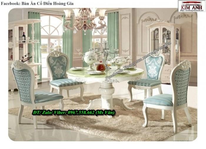 bàn ăn tròn cổ điển q2 q73