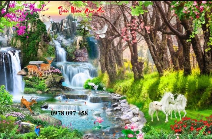 Tranh thiên nhiên đẹp- tranh gạch3