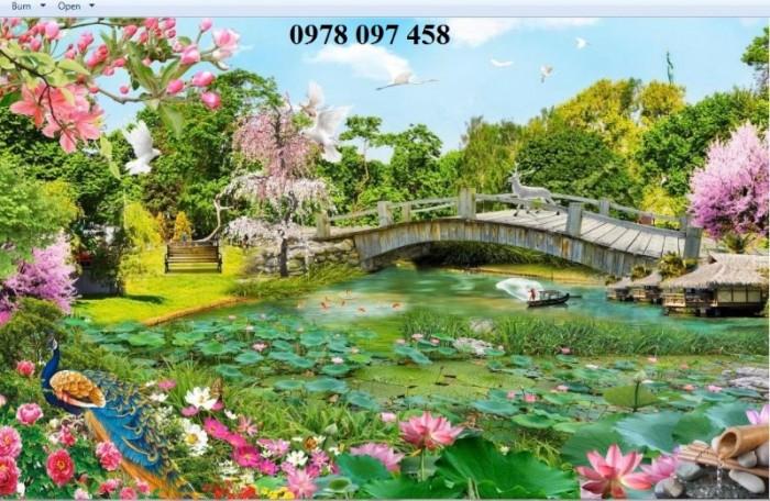 Tranh thiên nhiên đẹp- tranh gạch5