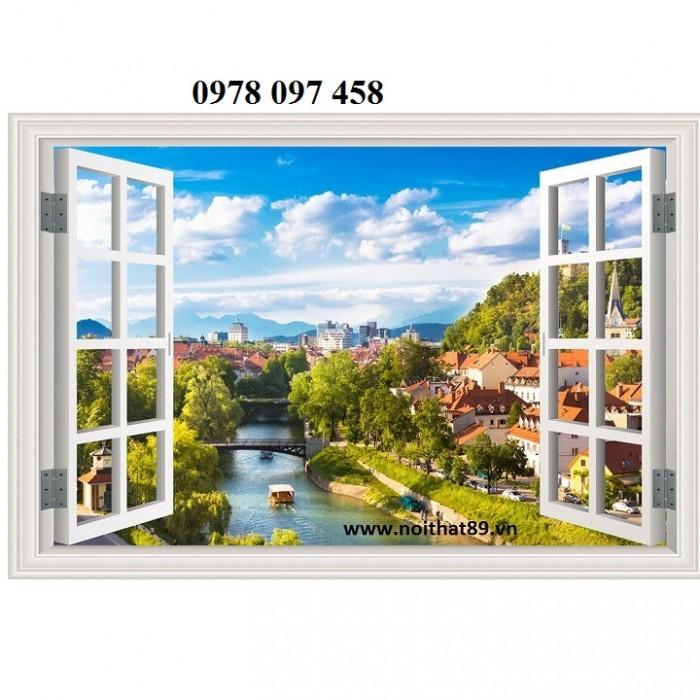 Tranh gạch men - tranh cửa sổ3