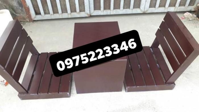 Bàn ghế gỗ bệt nhiều mẫu đa màu..4