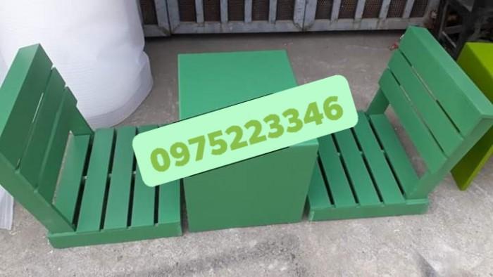 Bàn ghế gỗ bệt nhiều mẫu đa màu..5