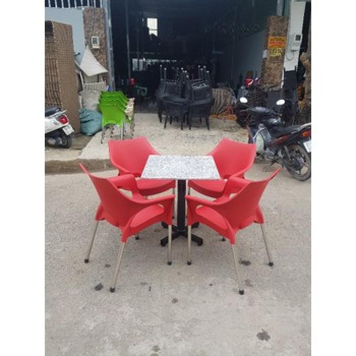 Bàn ghế nhựa cafe sân vườn2
