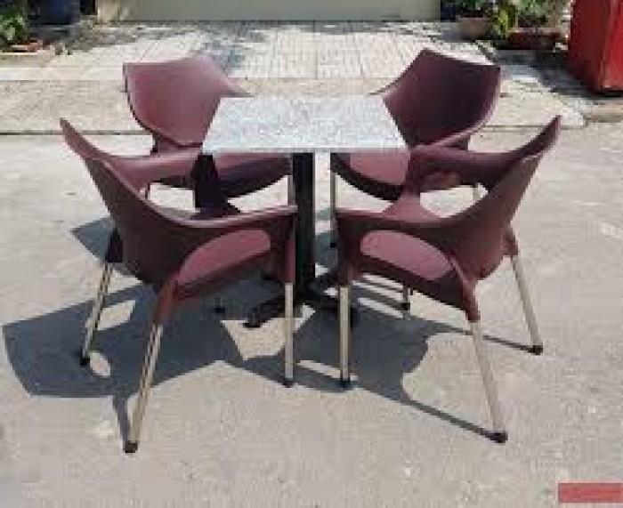 Bàn ghế nhựa cafe sân vườn4