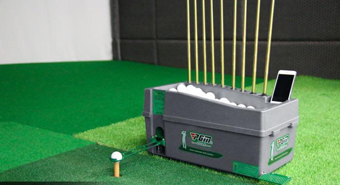 Máy phát bóng golf lên tee nhập khẩu8