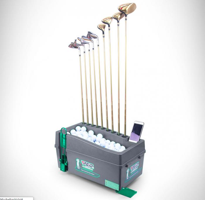 Máy phát bóng golf lên tee nhập khẩu9