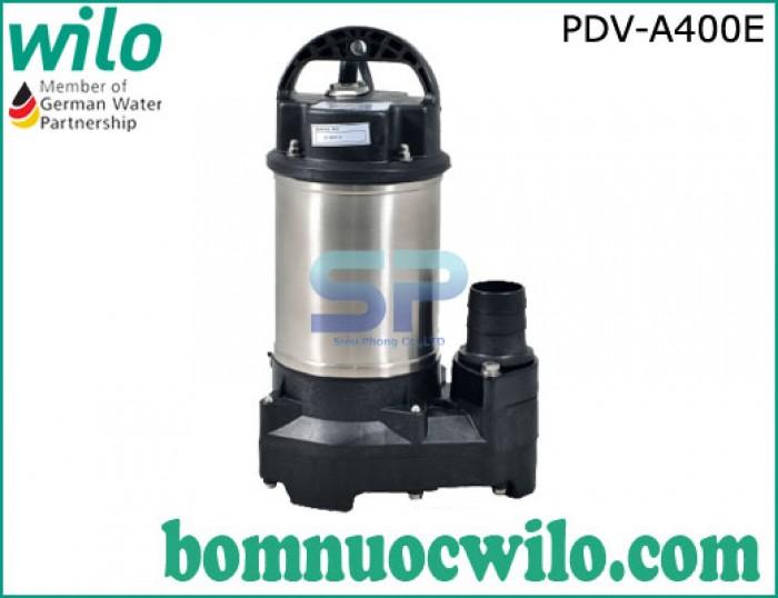 Máy bơm chìm hút nước thải WILO PDV A400E 400W0