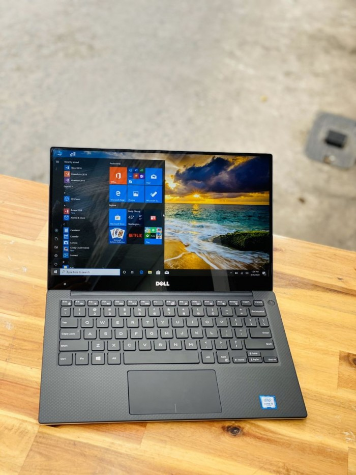 Laptop Dell XPS 13 9350, I5 6200U 8G SSD256 QHD 3K Full Viền TOUCH Zin