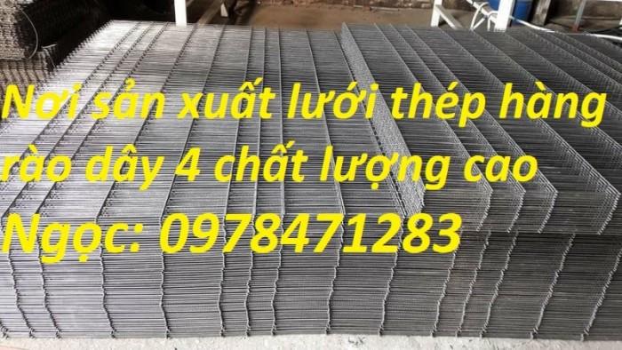 Nơi sản xuất và cung cấp lưới thép hàng rào dập sóng dây 4, dây 5, dây 6.3