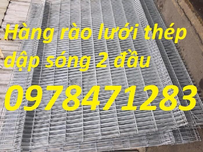 Nơi sản xuất và cung cấp lưới thép hàng rào dập sóng dây 4, dây 5, dây 6.10