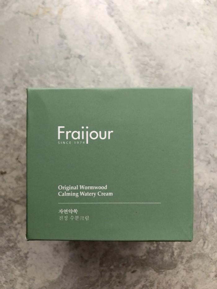 Kem dưỡng thảo mộc Fraijour Original Herb Wormwood Watery Cream xách tay Hàn2