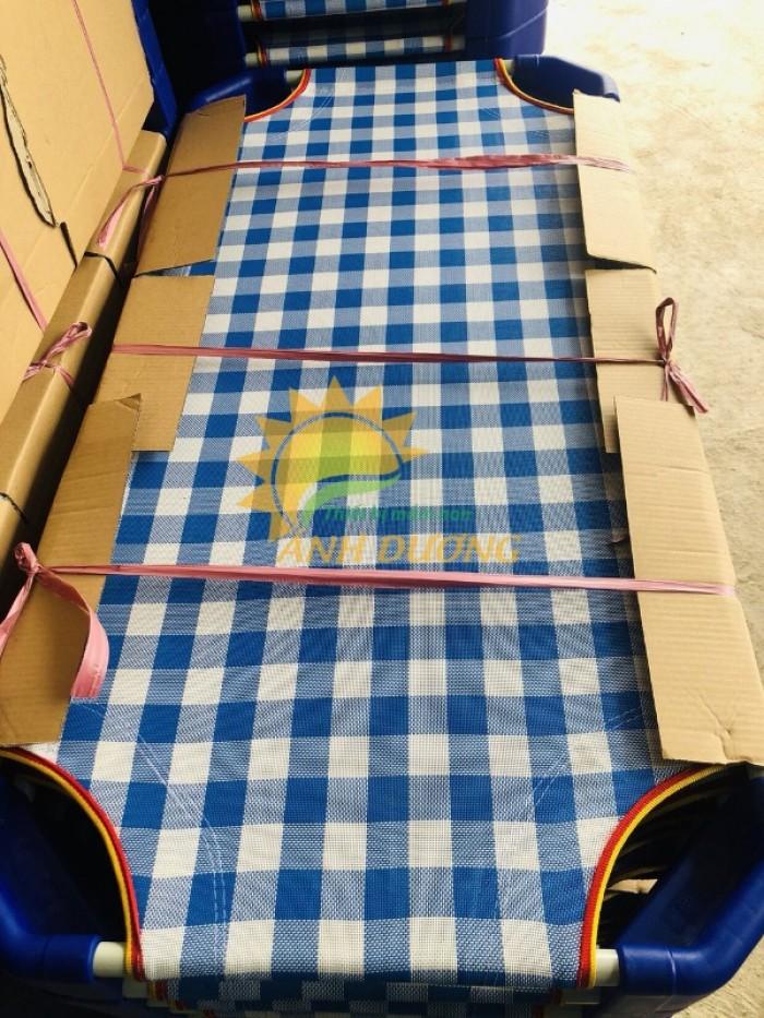 Chuyên bán giường ngủ lưới trẻ em cho trường lớp mầm non, gia đình7