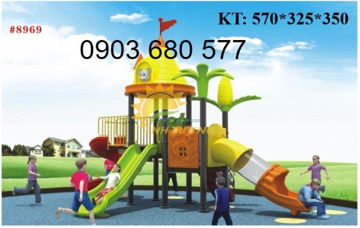 Chuyên cầu trượt liên hoàn ngoài trời cho trường mầm non, công viên, sân chơi9