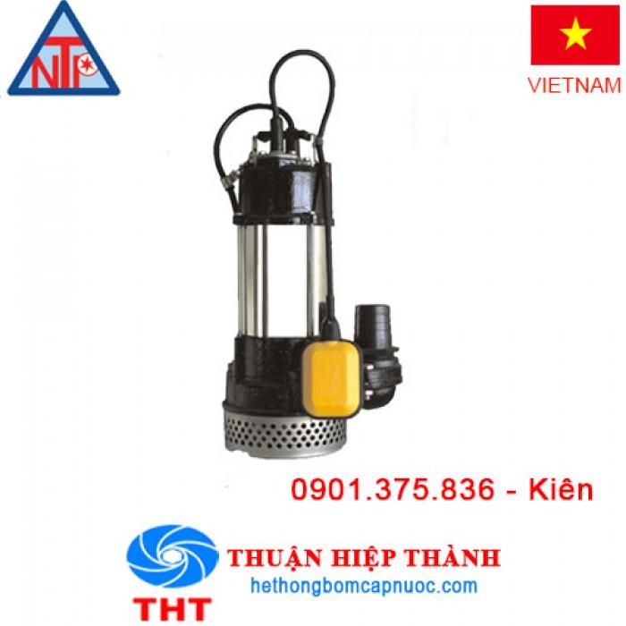 Máy bơm chìm hút nước thải có phao NTP HSM250-1.75 265(T)1
