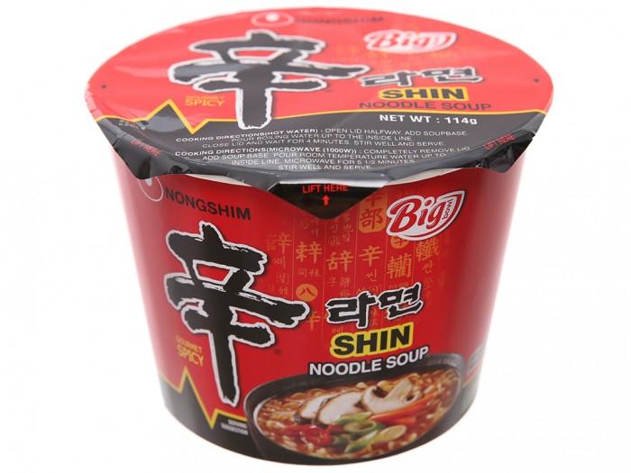 Mì cay Nongshim Shin Noodles tô 114g1