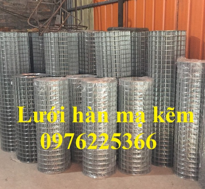 Lưới thép mạ kẽm, lưới hàn mạ kẽm D2, D3 a50, D4 a50 sản xuất theo yêu cầu5