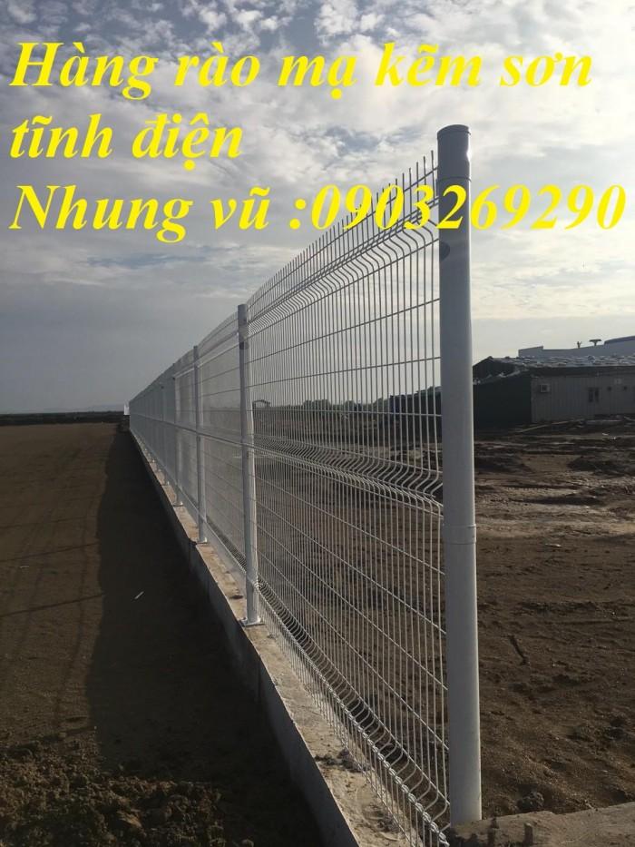 lưới hàng rào mạ kẽm sơn tĩnh điện 0