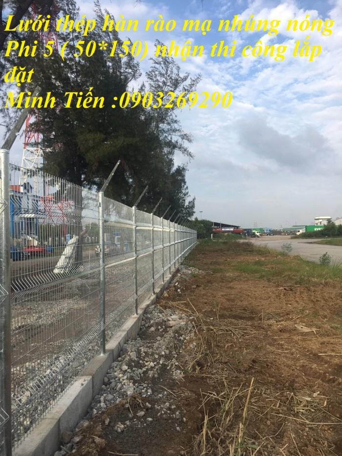 Hàng rào lưới thép mà kẽm sơn tĩnh điện - nhúng nóng bẻ gập đầu tam giagiacs5