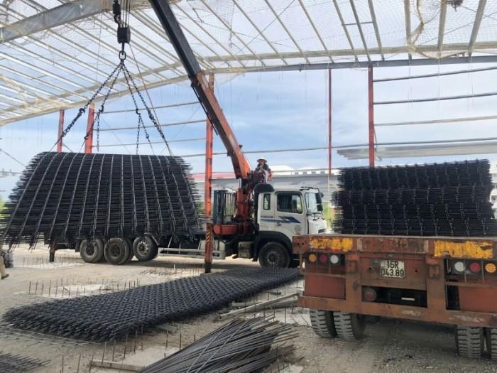 Lưới thép hàn, lưới thép hàn đổ sàn D4, D5, D6, D8, D10 sản xuất tại Hà Nội2