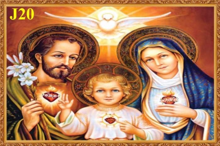 Tranh gạch 3D Thiên Chúa Giáo1