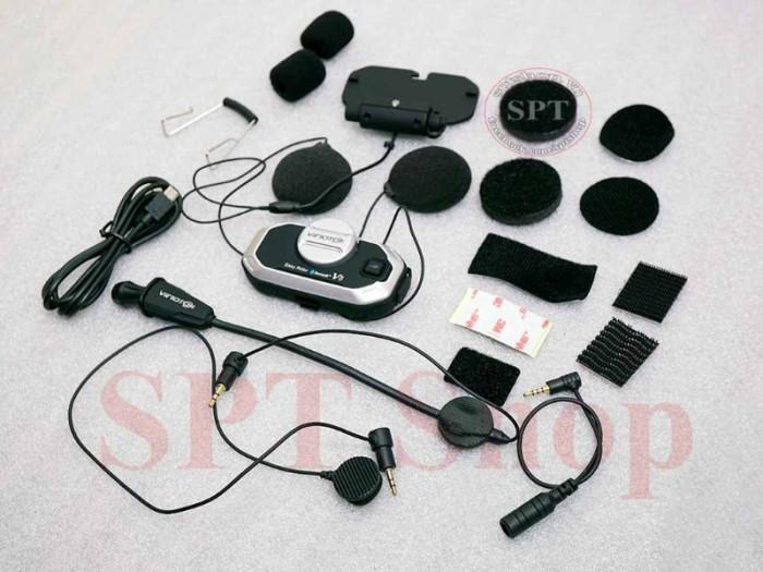 Tai Nghe Bluetooth Gắn Mũ Bảo Hiểm Vimoto V8 Cao Cấp10