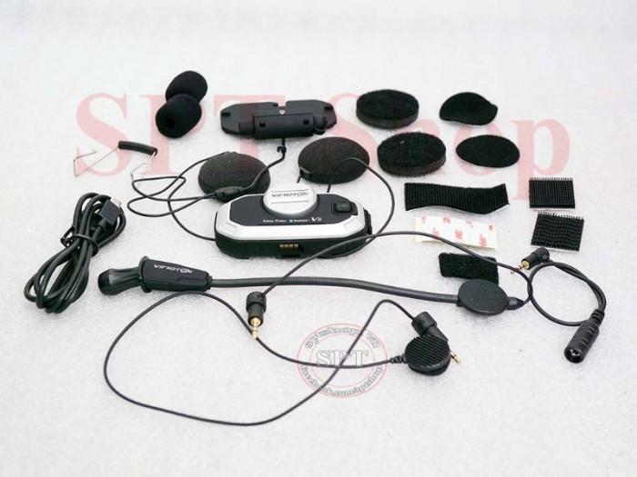 Tai Nghe Bluetooth Gắn Mũ Bảo Hiểm Vimoto V8 Cao Cấp11