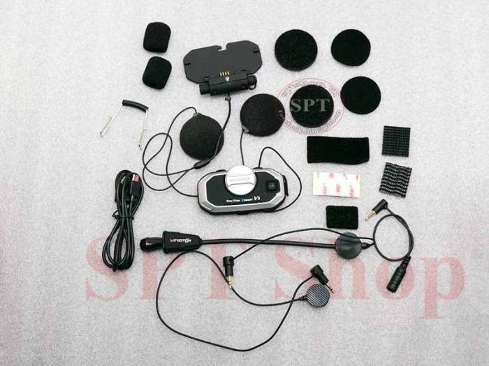 Tai Nghe Bluetooth Gắn Mũ Bảo Hiểm Vimoto V8 Cao Cấp6