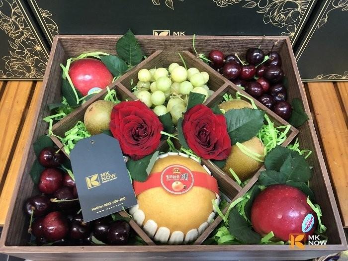 Hộp quà trái cây phong cách Vintage - FSNK1520