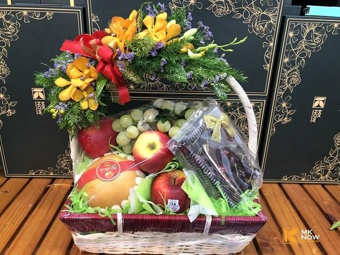 Quà ra mắt thông gia sang trọng với giỏ trái cây FSNK156 | Gọi 0373 600 600 2