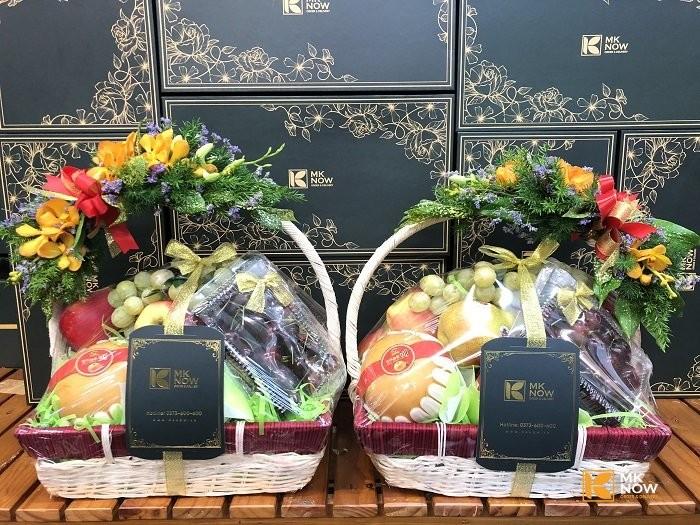 Mua quà gì tặng thông gia - MKnow tư vấn tặng giỏ quà trái cây nhập khẩu sang đẹp - FSNK156 | Gọi 0373 600 600 1