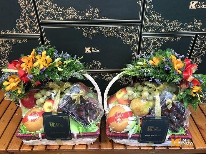 Đặt quà biếu sui gia với giỏ hoa quả mần sui FSNK156 | Gọi 0373 600 600 3