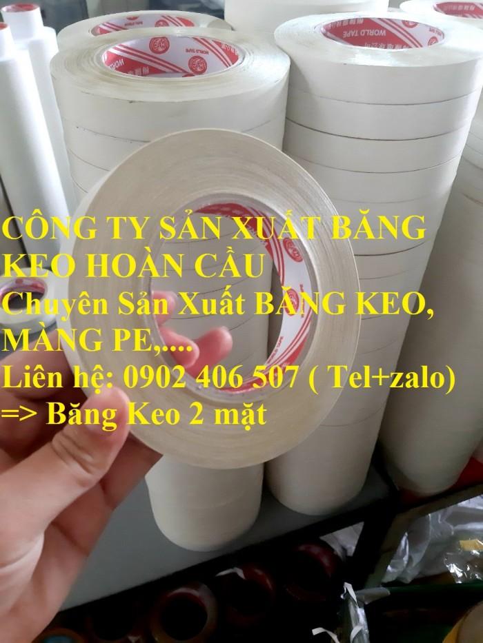 Băng keo 2 mặt giá sỉ tại xưởng sản xuất - 0902 406 5071