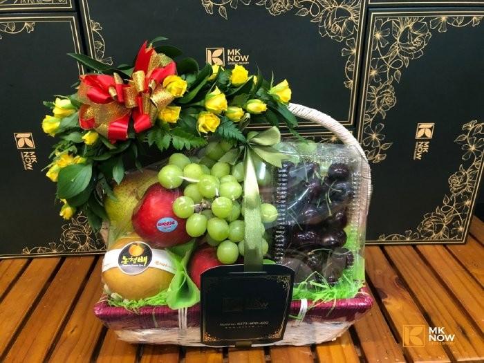 Giỏ trái cây làm quà biếu TPHCM
