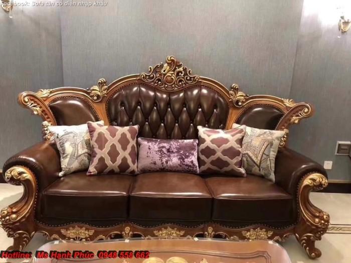 Sofa giường tân cổ điển14
