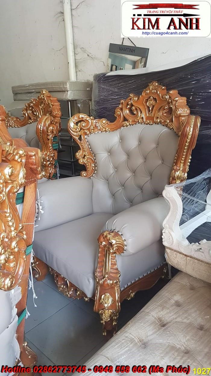 Sofa gỗ đỏ kiểu cổ điển19