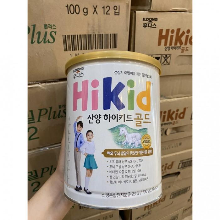 Mua Sữa Hikid Dê Núi 700gr Nội Địa Hàn Quốc Dành Cho Bé Từ 1-9 Tuổi VUI LÒNG GỌI 0901 181 365