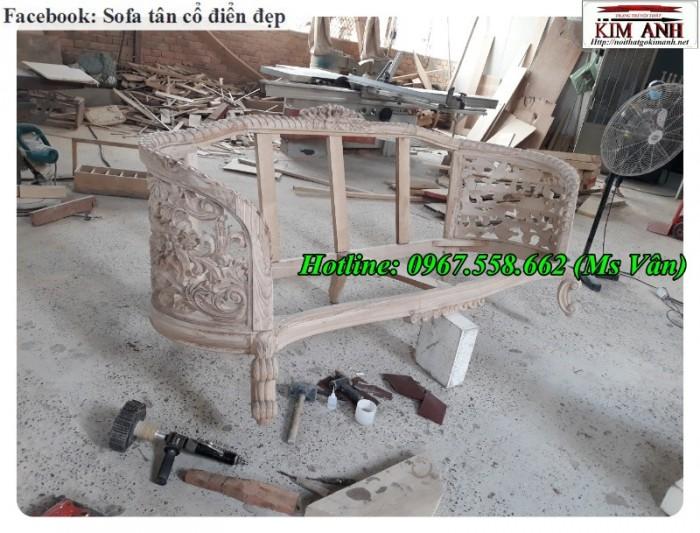xưởng sản xuất khung ghế sofa cổ điển đẳng cấp châu âu