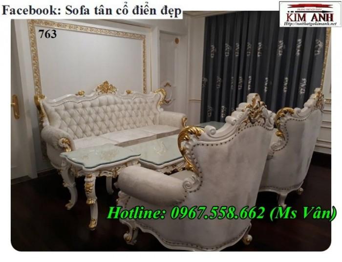 bộ sofa cổ điển phong cách hoàng gia