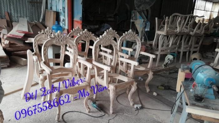 xưởng sản xuất khung ghế ăn cổ điển giá rẻ tphcm