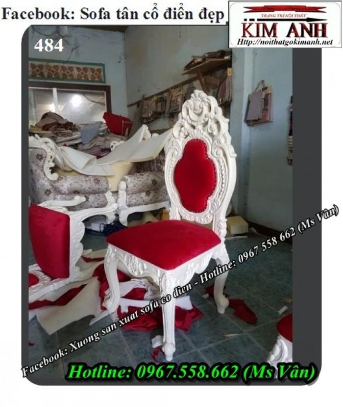 xưởng sản xuất ghế ăn cổ điển đẹp