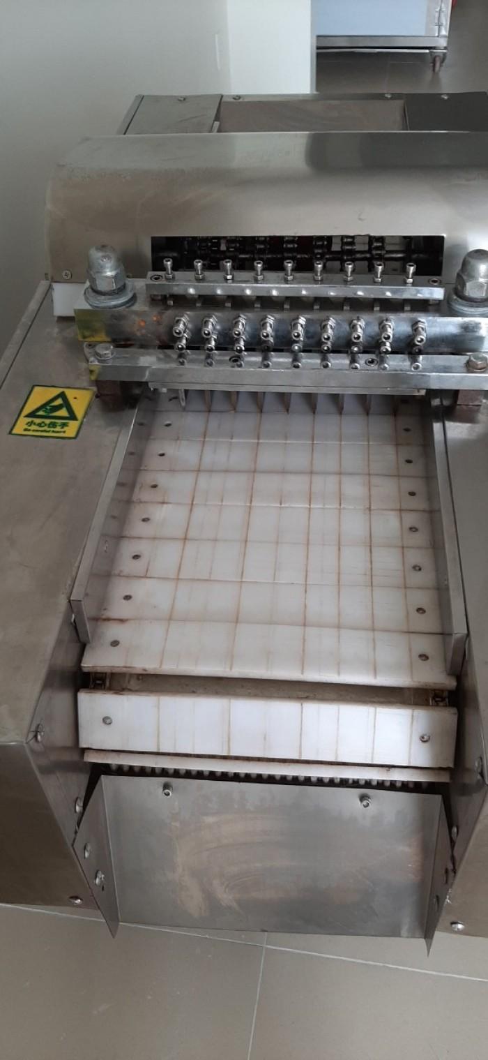 Máy chặt gà công nghiệp, máy chặt nguyên con gà0