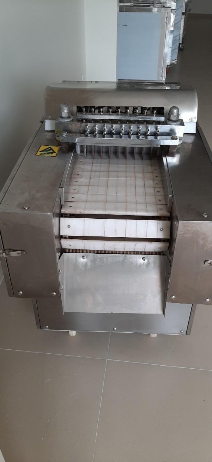 Máy chặt gà công nghiệp, máy chặt nguyên con gà1
