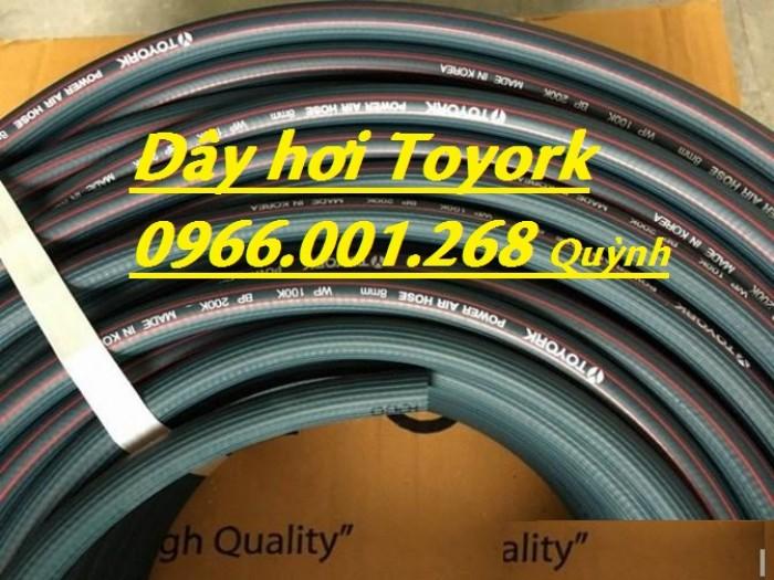 Dây khí nén Toyork , dây hơi Toyork phi 6.5,phi 9.5,phi 13,phi 16,phi 19,phi0