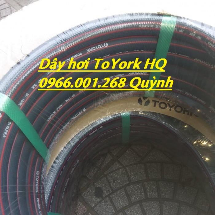 Dây khí nén Toyork , dây hơi Toyork phi 6.5,phi 9.5,phi 13,phi 16,phi 19,phi4