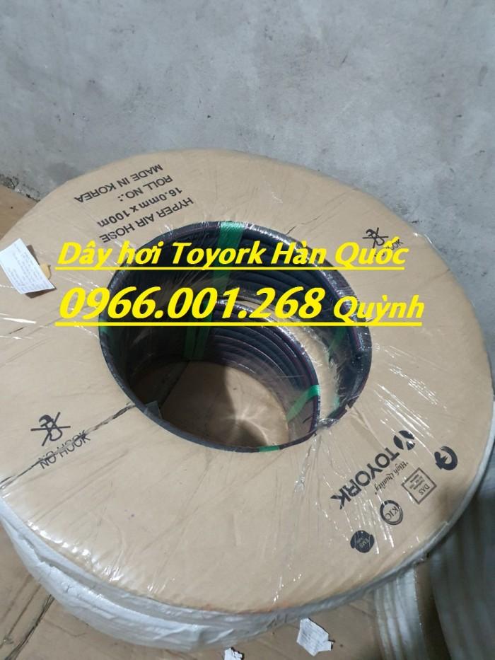 Dây khí nén Toyork , dây hơi Toyork phi 6.5,phi 9.5,phi 13,phi 16,phi 19,phi5