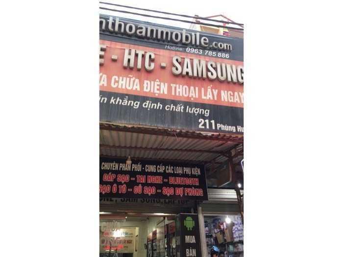 Chính chủ cho thuê cửa hàng mặt phố Phùng Hưng phúc la hà đông HN1