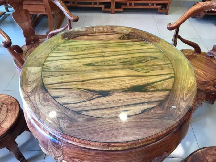 Bộ bàn ghế móc thúng gỗ cẩm lai hàng tuyển chọn VIP1