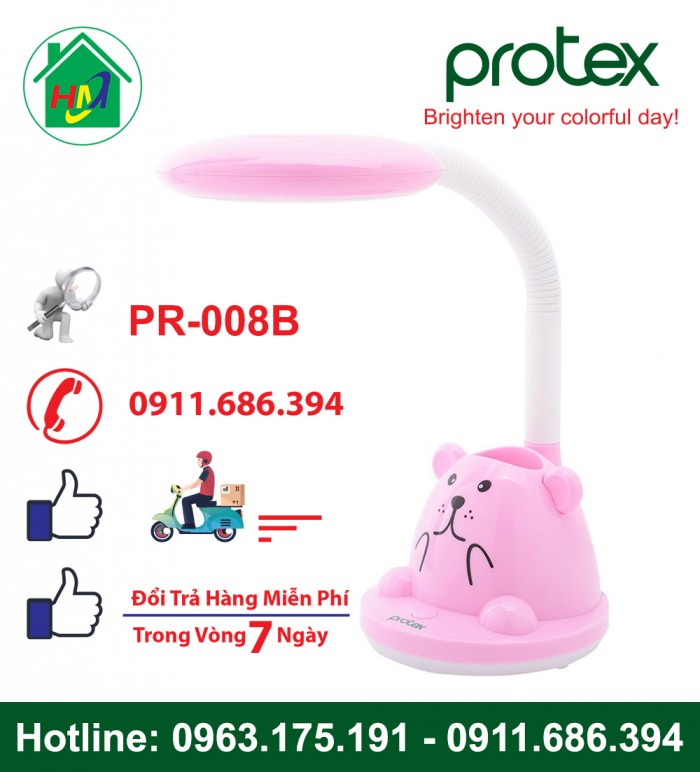 Đèn Học Để Bàn Hình Con Gấu Protex PR-008B6
